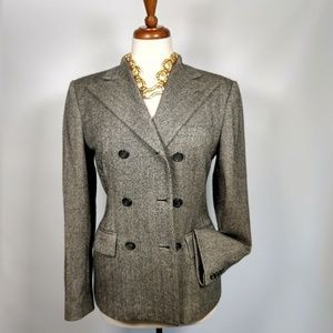 Ralph Lauren Collection wool herringbone blazer 2